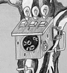 hatching mechanical owls