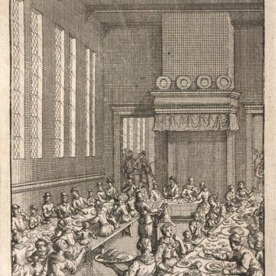 Thomas More's Utopia - communal living. Source: British Library