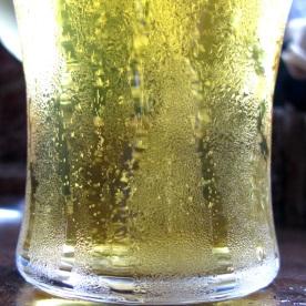 Beer in upside-down-land